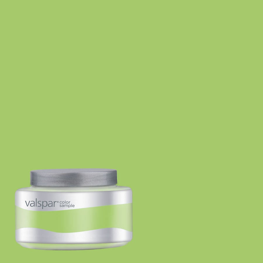 Valspar Pantone Jasmine Green Interior Satin Paint Sample (Actual Net Contents: 8.02-fl oz)