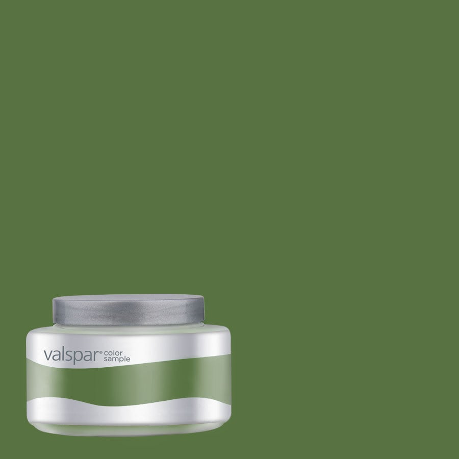 Valspar Pantone Online Lime Interior Satin Paint Sample (Actual Net Contents: 7.99-fl oz)