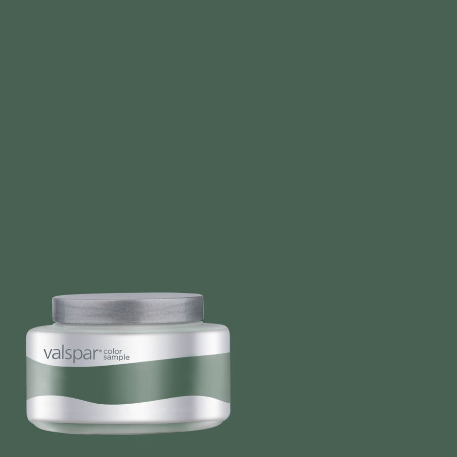 Valspar Pantone Hunter Green Interior Satin Paint Sample (Actual Net Contents: 7.99-fl oz)