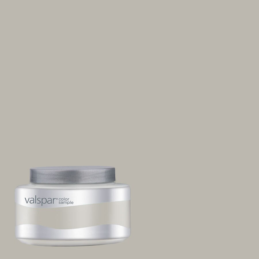 Shop valspar woodlawn colonial gray interior satin paint for Light gray taupe paint