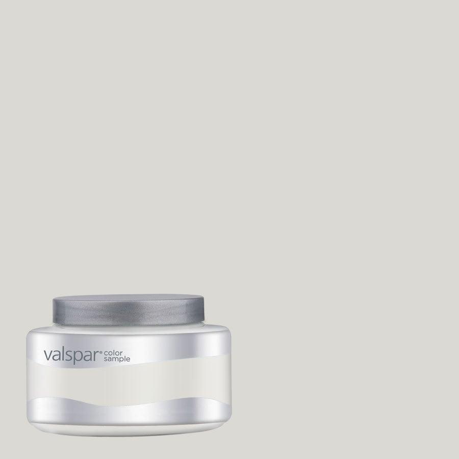 Valspar Montpelier Madison White Interior Satin Paint Sample (Actual Net Contents: 8-fl oz)