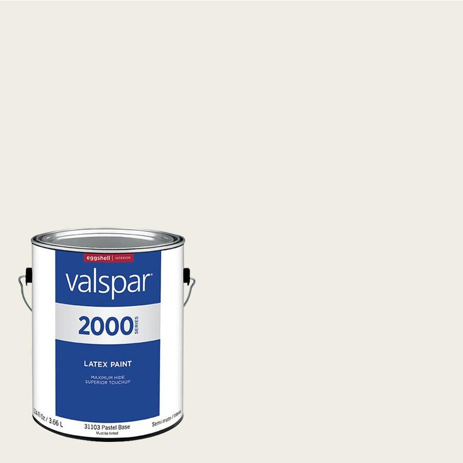 shop valspar pro 2000 cloud white eggshell latex interior. Black Bedroom Furniture Sets. Home Design Ideas