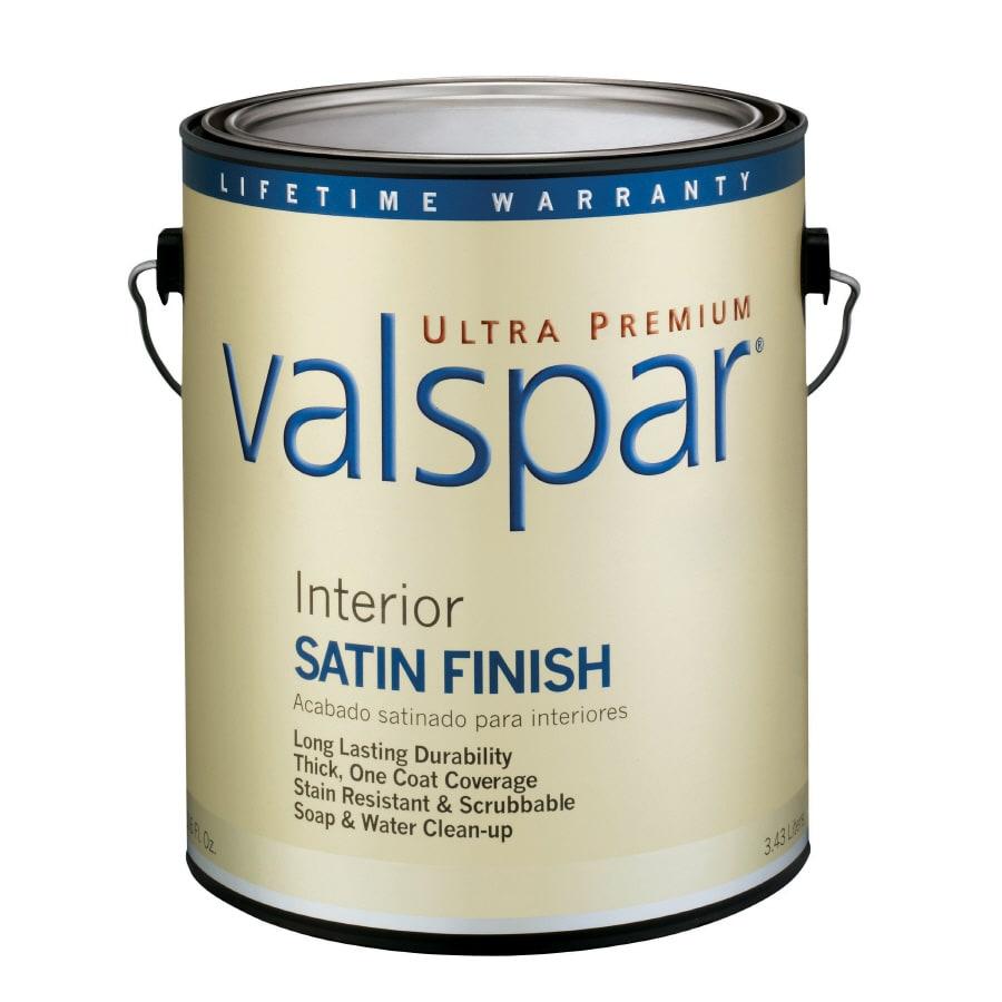Shop Valspar Ultra Premium 1-Gallon Interior Satin