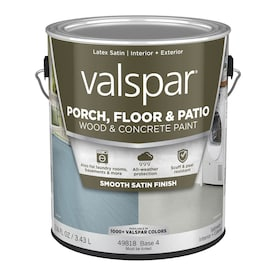 Valspar Light Gray Satin Latex Porch And Floor Paint Actual Net