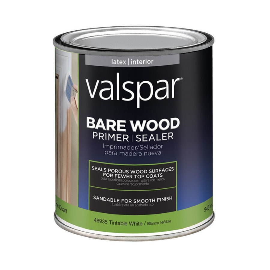 Shop Valspar Interior Latex Primer Actual Net Contents 32 Fl Oz At