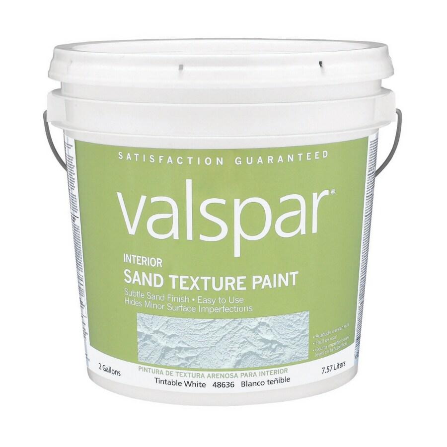 Shop Valspar Tintable Flat Latex Interior Paint Actual Net Contents