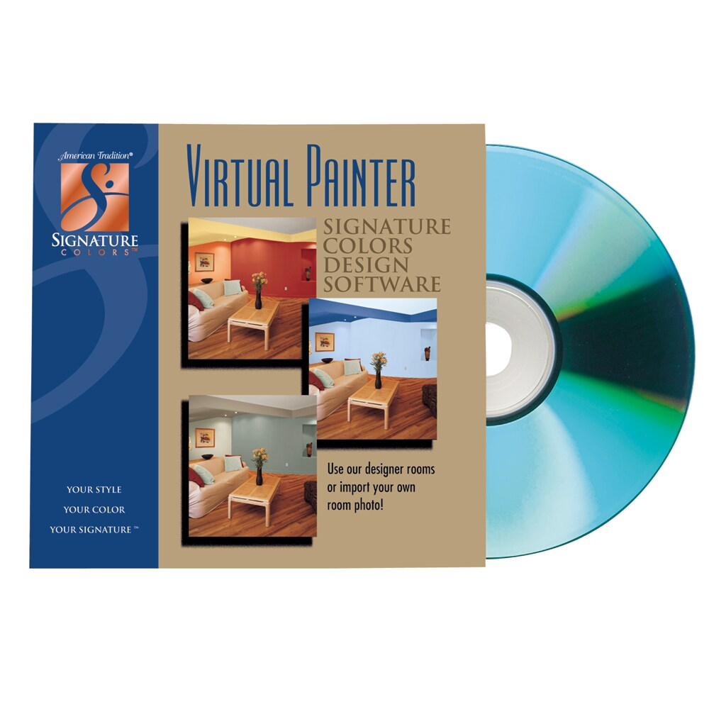 Valspar Virtual Painter Design Software For American Tradition Signature Colors Compact Disc