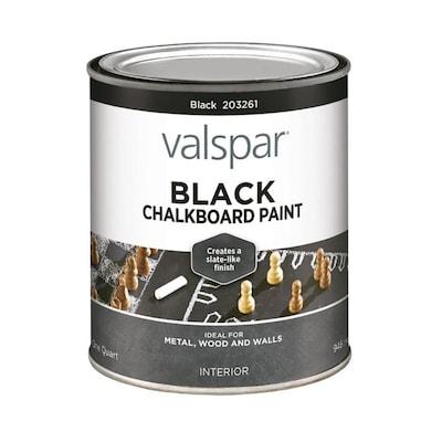 Black Latex Chalkboard Paint Actual Net Contents 32 0 Oz