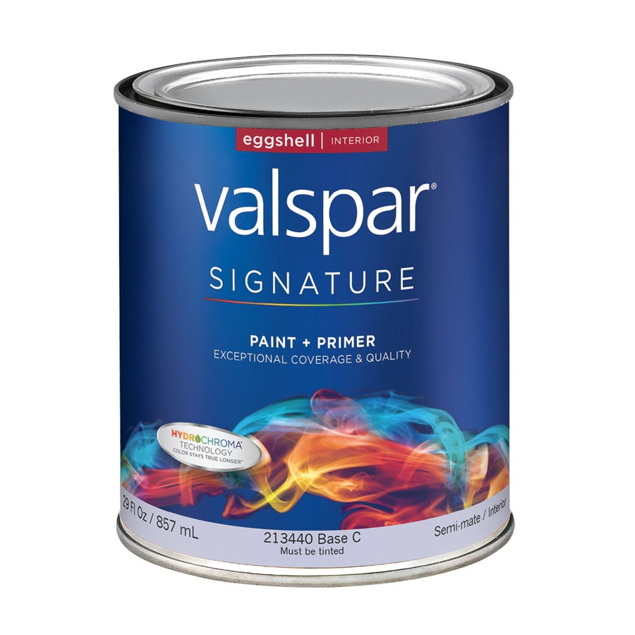 Valspar Signature White Eggshell Latex Interior Paint and Primer in One (Actual Net Contents: 29-fl oz)