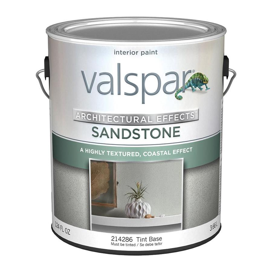 Valspar Tintable Flat Sandstone Latex Interior Paint (Actual Net Contents: 124-fl oz)