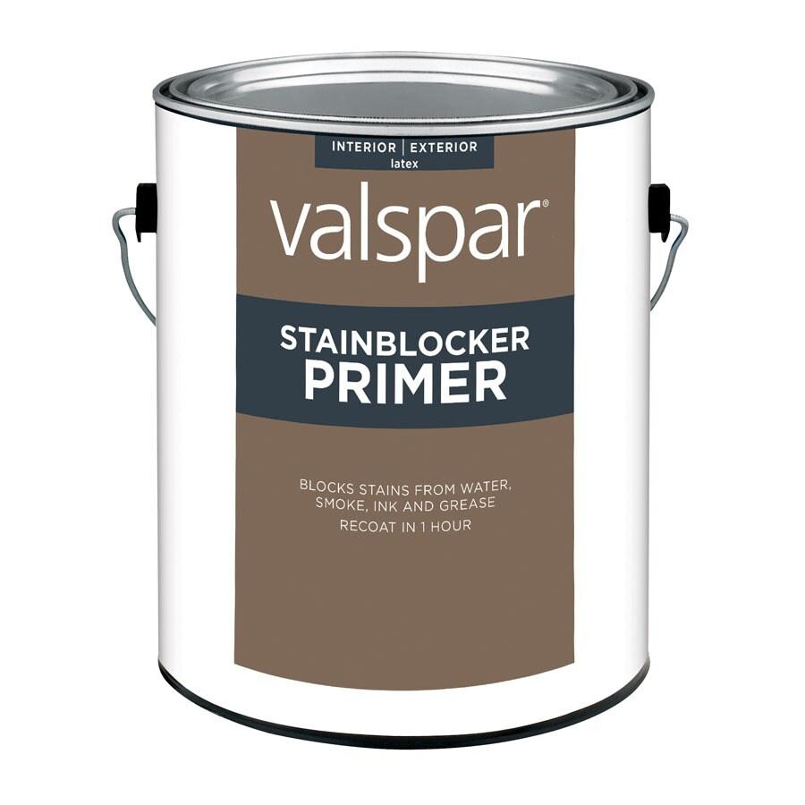Valspar Interior Latex Primer (Actual Net Contents: 128-fl oz)