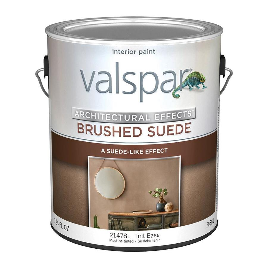 Shop Valspar Brushed Suede Tintable Flat Latex Interior Paint Actual Net Contents 124 Fl Oz