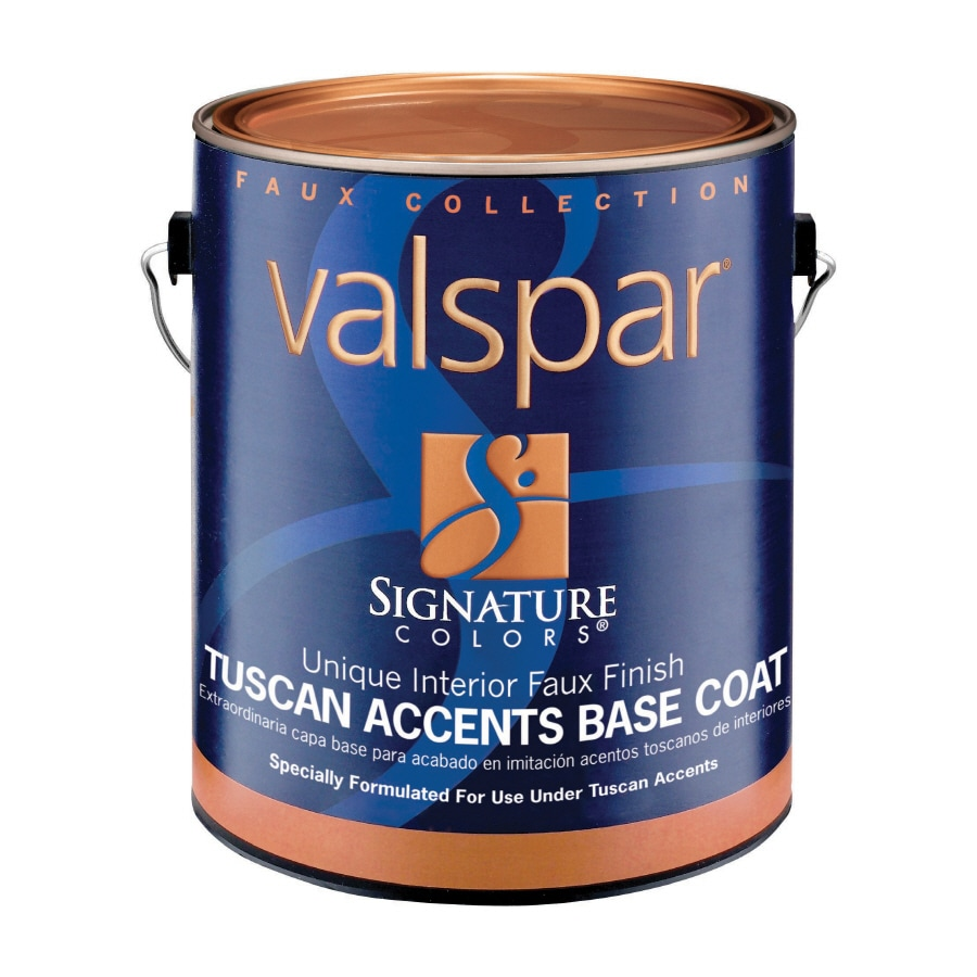Shop Valspar Signature Colors 1 Gallon Interior Tintable Latex Base Paint At