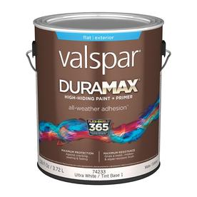 Delightful Valspar Duramax Flat Latex Exterior Paint (Actual Net Contents: 126 Fl Oz)