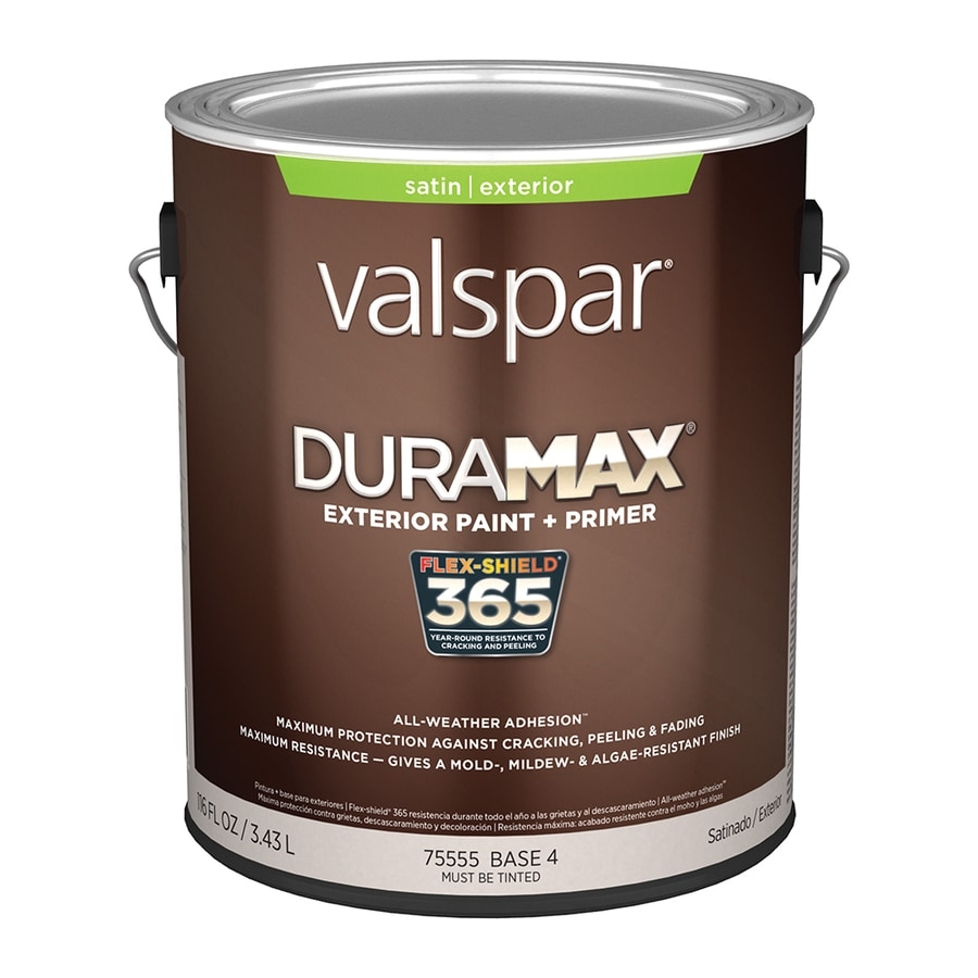 Valspar Duramax Satin Latex Exterior Paint (Actual Net Contents: 116-fl oz)