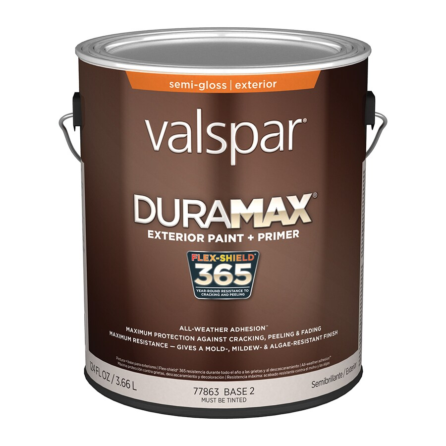 Valspar Duramax Semi-Gloss Latex Exterior Paint (Actual Net Contents: 124-fl oz)
