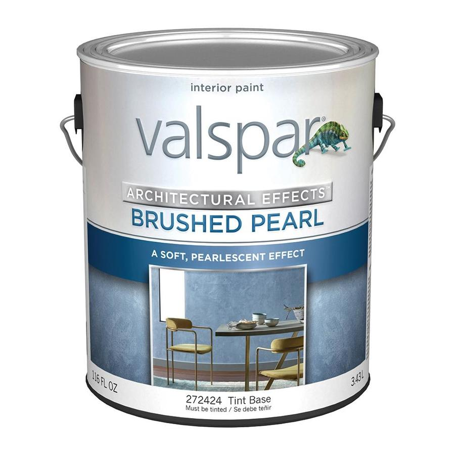 Valspar Signature Satin Brushed Pearl Tintable Pearlescent Latex Paint Actual Net Contents 116