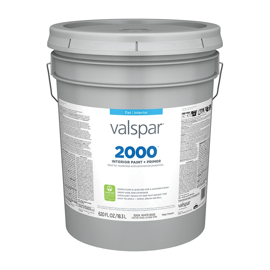 Valspar Ultra 2000 Pastel Base Flat Latex Interior Paint and Primer In One Paint (Actual Net Contents: 620-fl oz)
