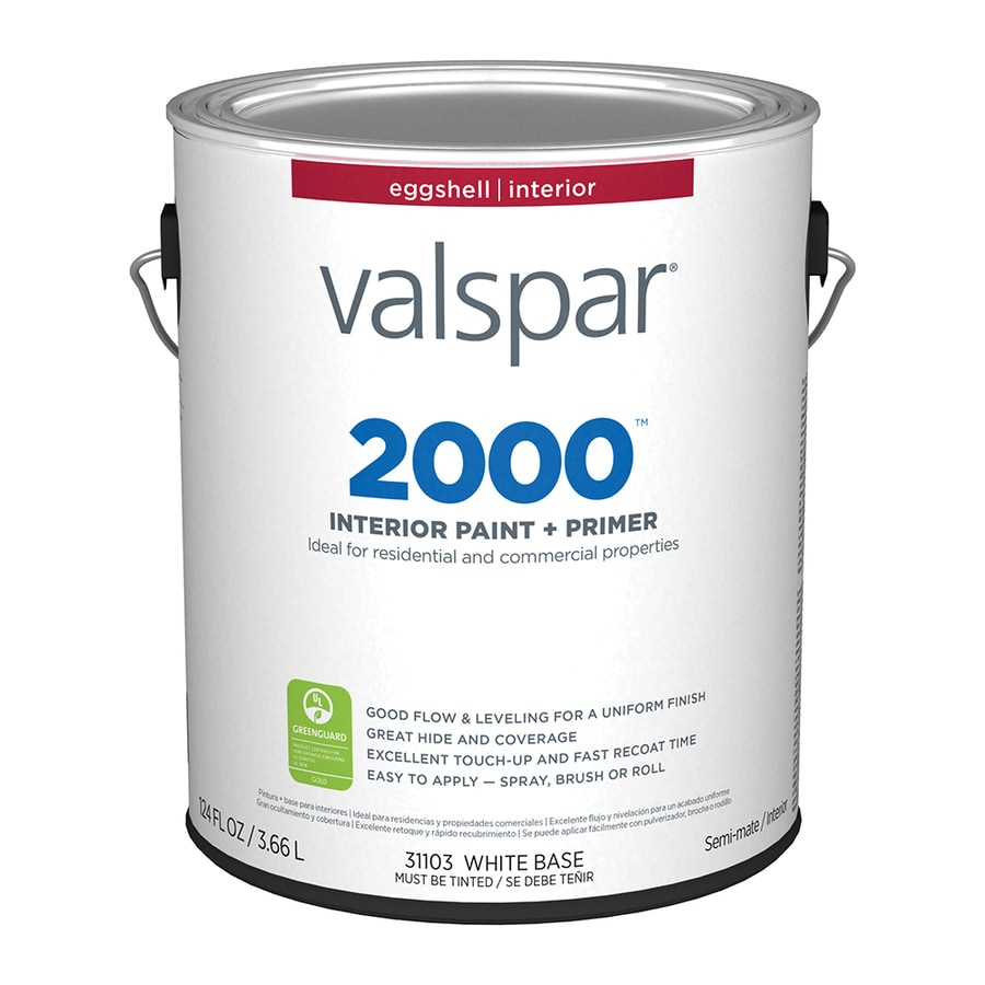 Valspar Ultra 2000 Pastel Base Eggshell Latex Interior Paint and Primer in One (Actual Net Contents: 124-fl oz)