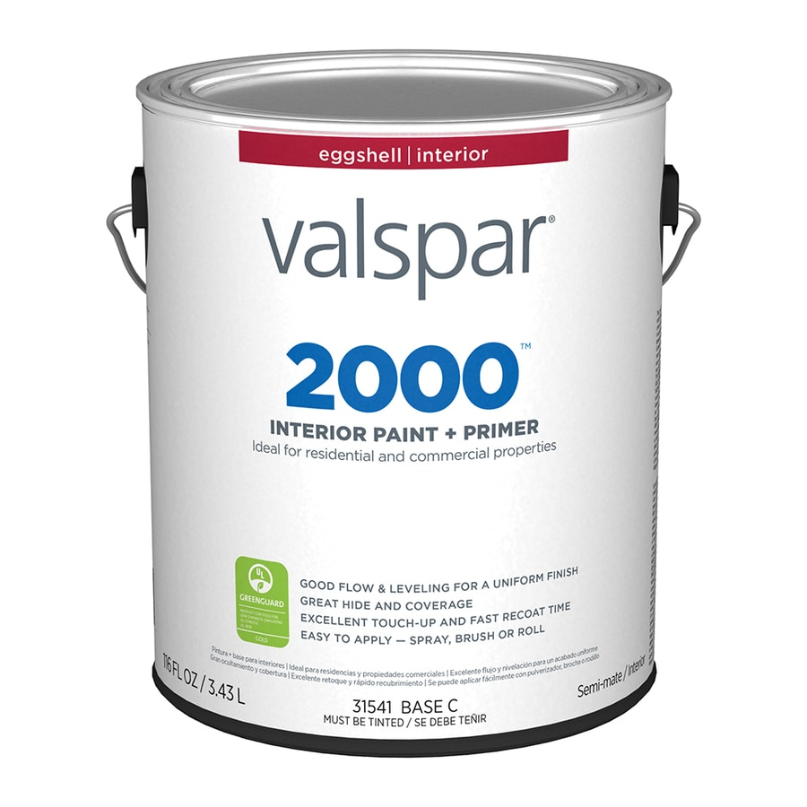 Valspar Ultra 2000 Neutral Base Eggshell Latex Interior Paint and Primer in One (Actual Net Contents: 116-fl oz)