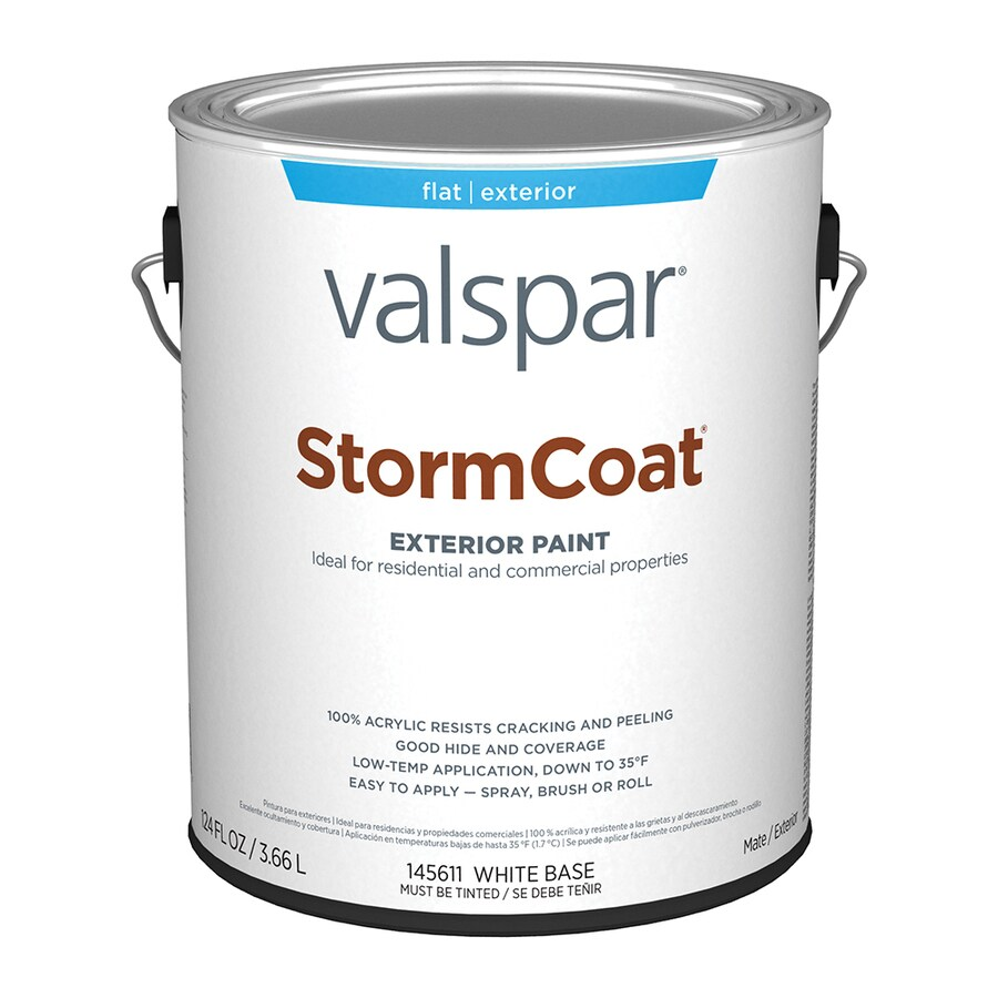Shop valspar stormcoat flat latex exterior paint actual for Valspar com virtual painter