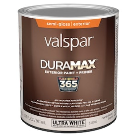 Valspar Duramax Base 1 Semi Gloss Exterior Tintable Paint 1 Gallon In The Exterior Paint Department At Lowes Com