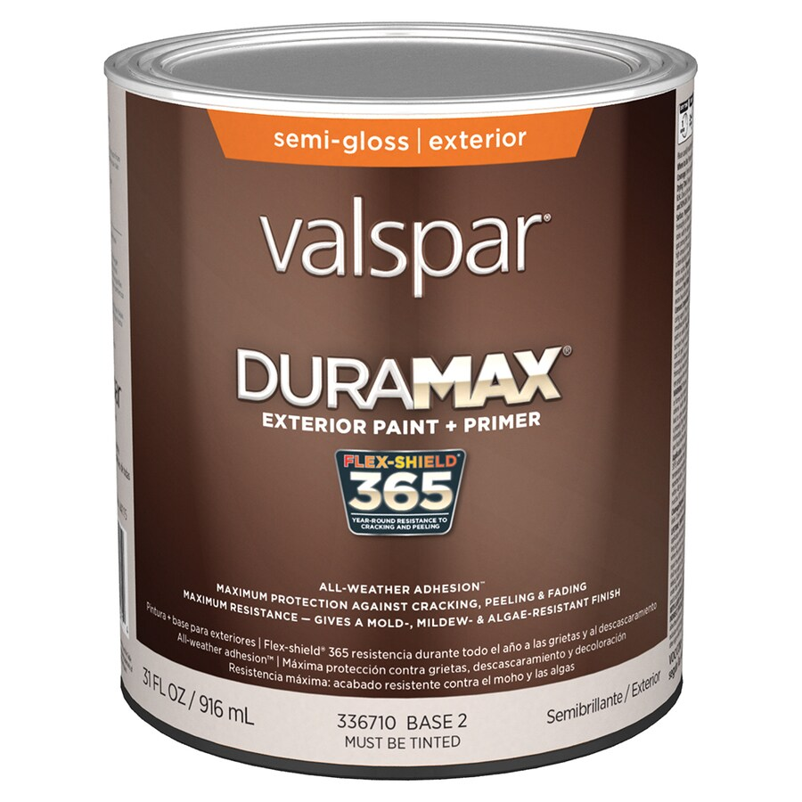 Shop valspar duramax semi gloss latex exterior paint for Valspar com virtual painter