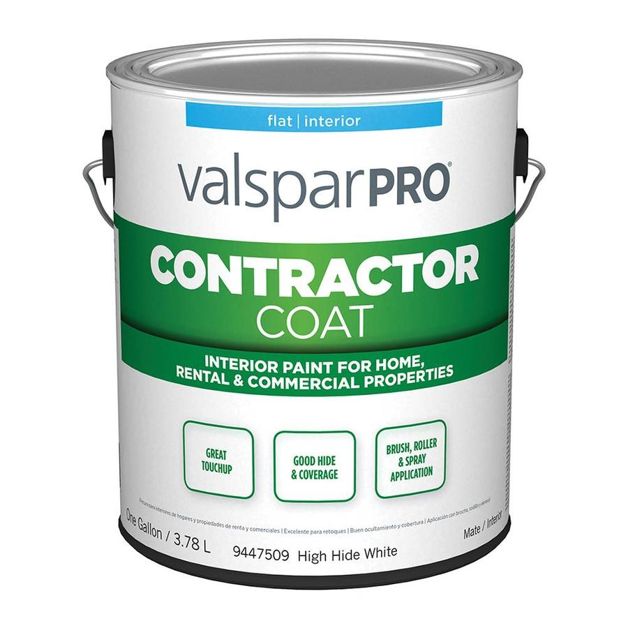 Shop valspar ultra 4000 high hide white flat latex for Valspar com virtual painter