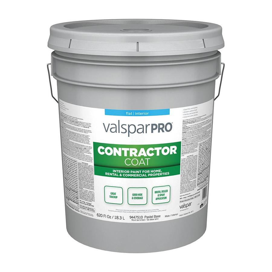 Shop Valspar Ultra 4000 Flat Latex Interior Paint Actual