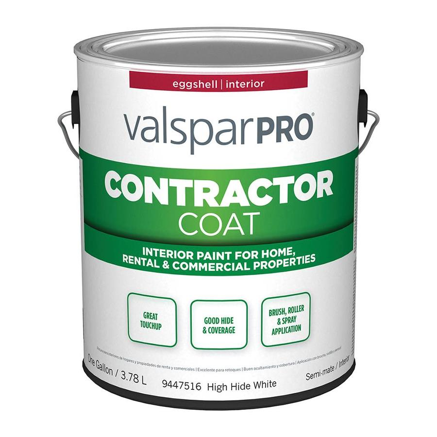 Valspar Ultra 4000 High Hide White Eggshell Latex Interior Paint (Actual Net Contents: 128-fl oz)