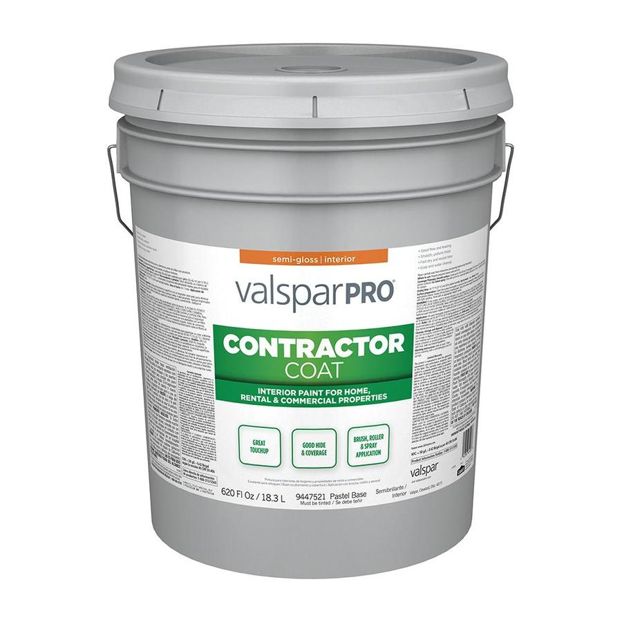 Shop Valspar Ultra 4000 Semi Gloss Latex Interior Paint Actual Net Contents 620 Fl Oz At