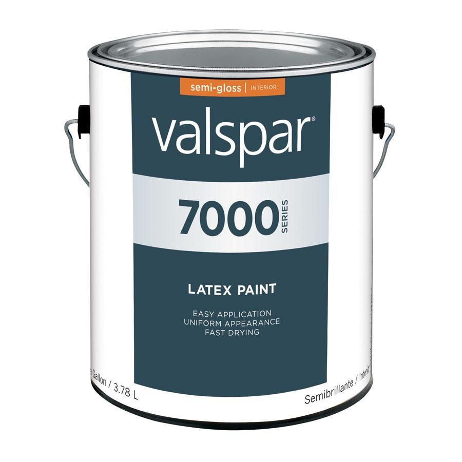 Shop Valspar Antique White Semi Gloss Latex Interior Paint Actual Net Contents 128 Fl Oz At