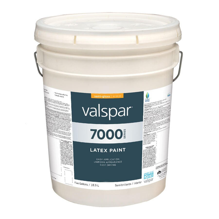 Valspar Antique White Semi Gloss Latex Interior Paint Actual Net Contents 640