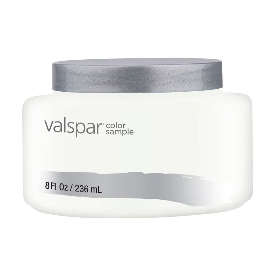 Valspar Ultra White Interior Satin Paint Sample