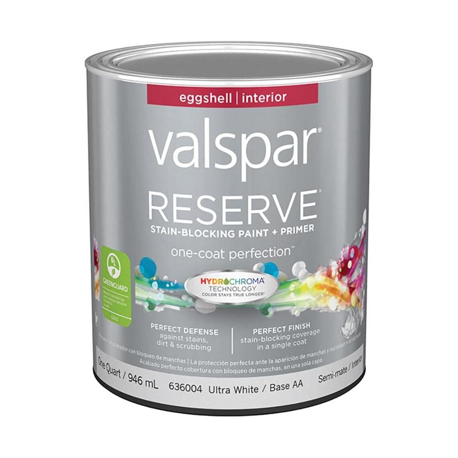 Valspar Reserve Eggshell Latex Interior Paint and Primer in One (Actual Net Contents: 32-fl oz)