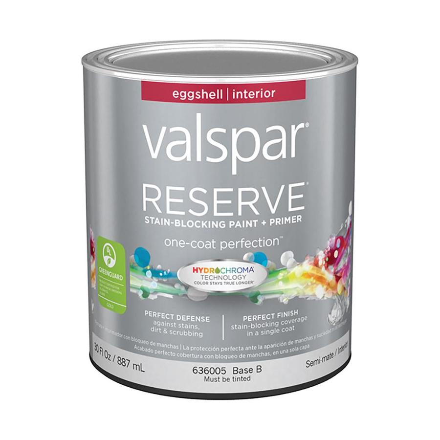 Valspar Reserve Eggshell Latex Interior Paint and Primer in One (Actual Net Contents: 30-fl oz)