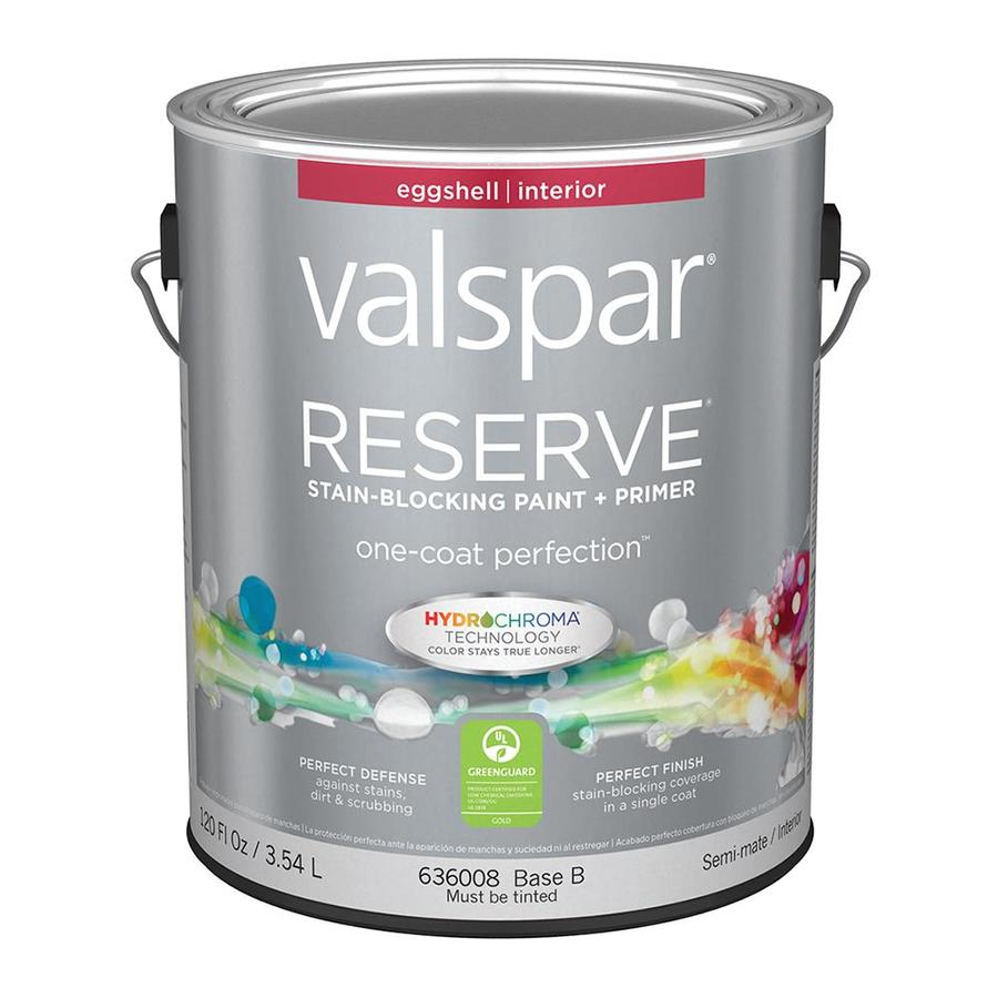 Valspar Reserve Eggshell Latex Interior Paint and Primer in One (Actual Net Contents: 120-fl oz)