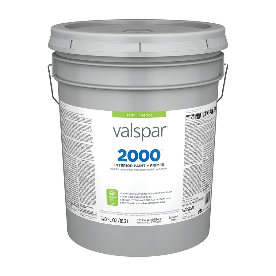 Valspar Ultra 2000 Pastel Base Satin Latex Interior Paint and Primer in One (Actual Net Contents: 620-fl oz)