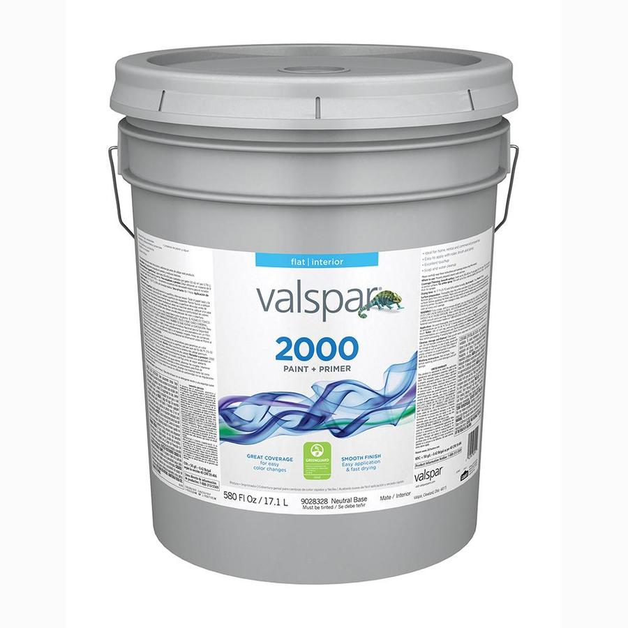 Valspar Ultra 2000 Flat Latex Interior Paint (Actual Net Contents: 580-fl oz)