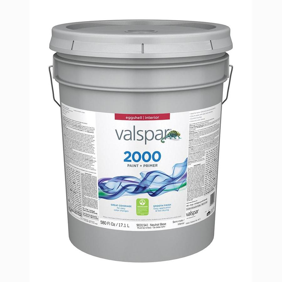 Valspar Ultra 2000 Neutral Base Eggshell Latex Interior Paint and Primer In One Paint (Actual Net Contents: 580-fl oz)
