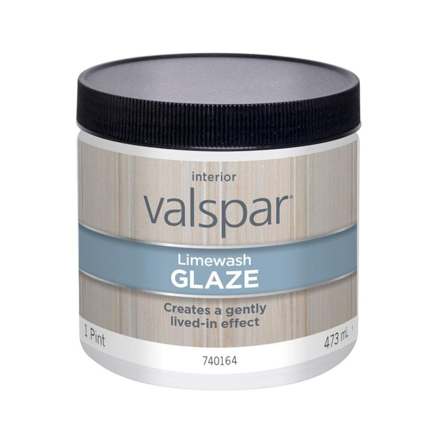 Valspar Limewash Satin Latex Limewash Glaze (Actual Net Contents: 16-fl oz)