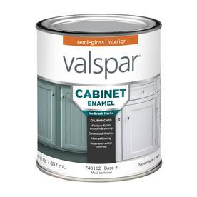 Valspar Pro Contractor Coat Satin White Oil-based Enamel Paint