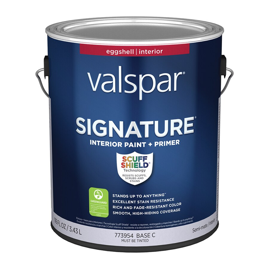 Shop valspar signature eggshell latex interior paint and for Valspar com virtual painter
