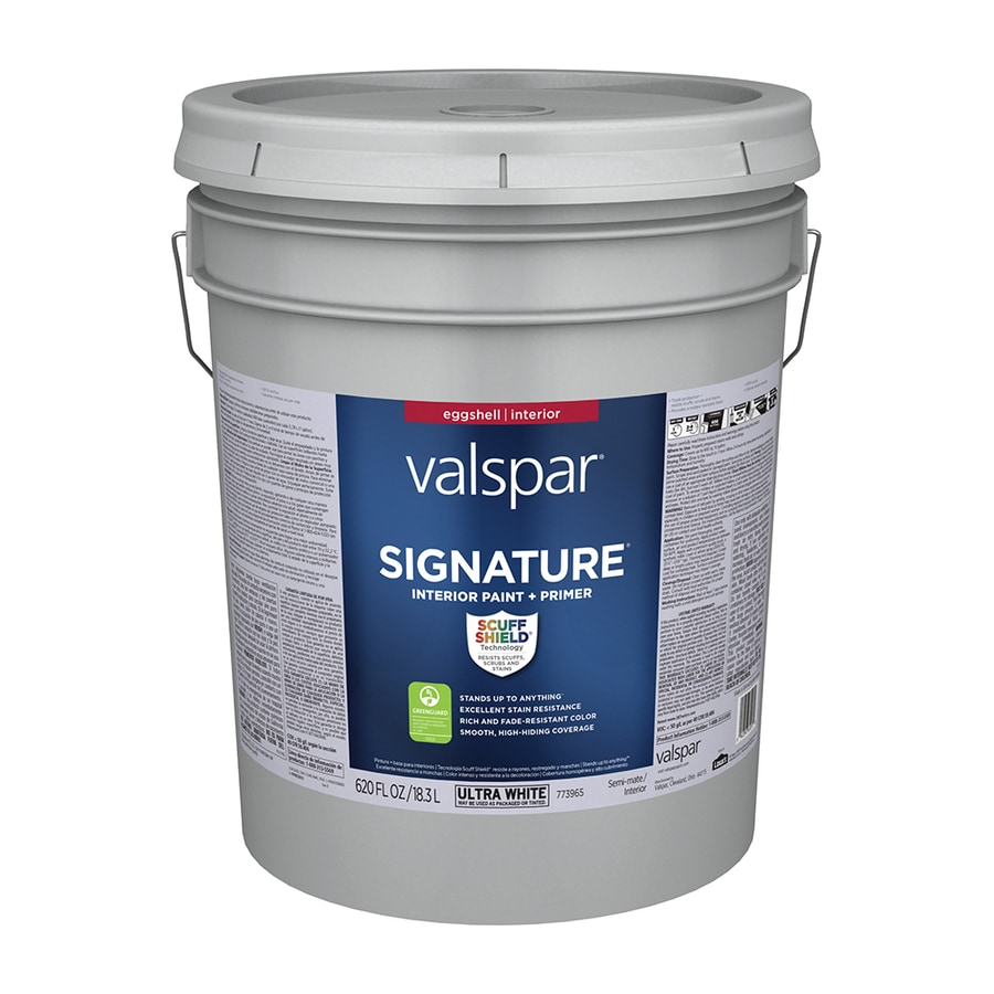 Valspar Signature Eggshell Latex Paint Actual Net Contents 620 Fl Oz