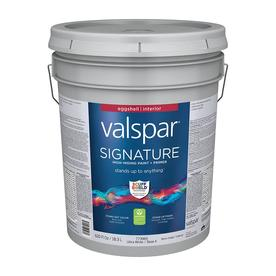 valspar signature eggshell latex interior paint and primer in one. Black Bedroom Furniture Sets. Home Design Ideas