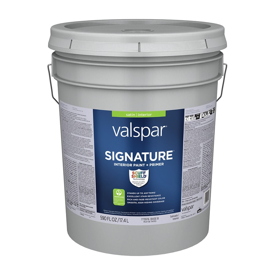 Shop Valspar Signature Satin Latex Interior Paint And