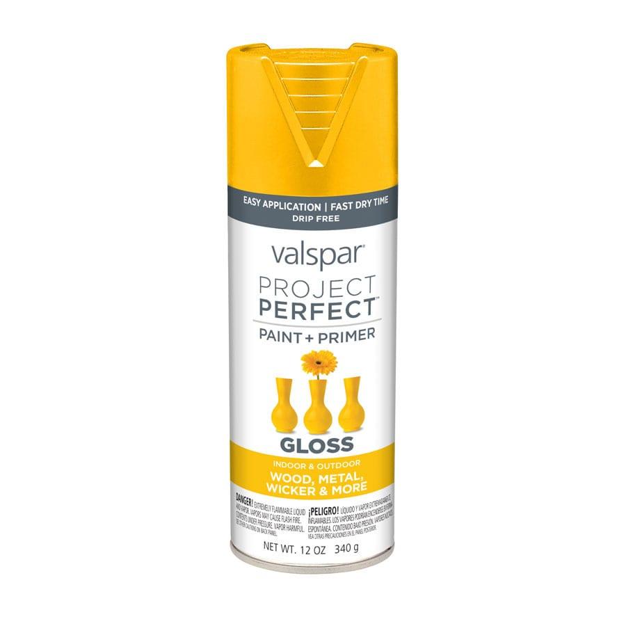 Valspar Project Perfect Gold Abundance Enamel Spray Paint (Actual Net Contents: 12-oz)