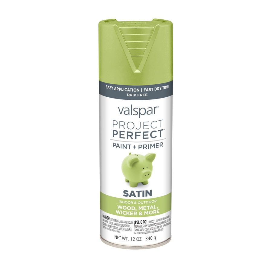 Valspar Project Perfect Everglade Glen Enamel Spray Paint (Actual Net Contents: 12-oz)