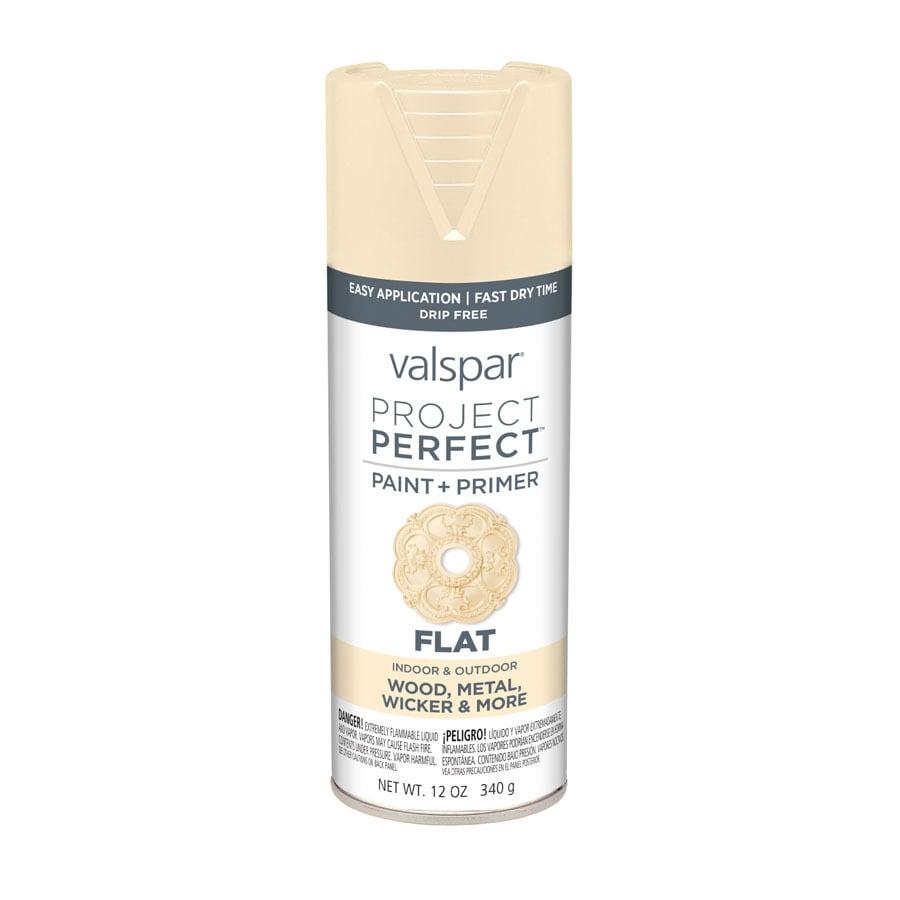 Valspar Project Perfect Honey Vanilla Fade Resistant Enamel Spray Paint (Actual Net Contents: 12-oz)