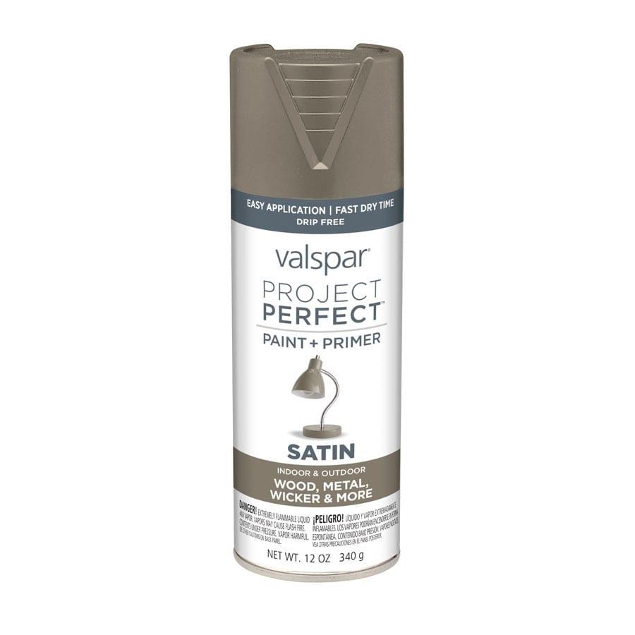 Valspar Project Perfect Seine Fade Resistant Enamel Spray Paint (Actual Net Contents: 12-oz)